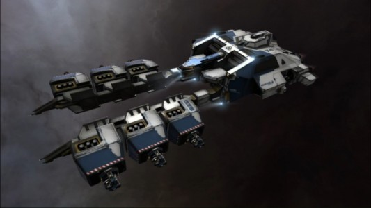The Endurance - An Ice Mining Frigate