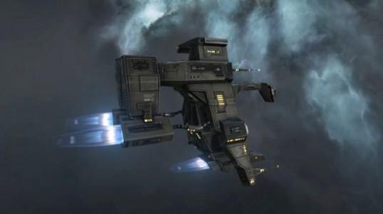 The Curon - Caldari Tech 2 Logistics Frigate