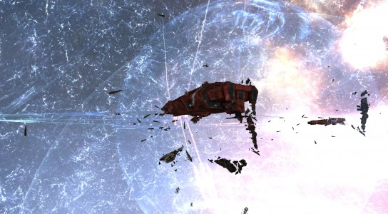 One of the Last Remaining The Initiative.'s Dreadnoughts Facing Its Inevitable Doom