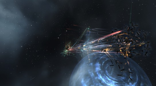 The Initial Fighting on the Circle-Of-Two Tower in the Jan System