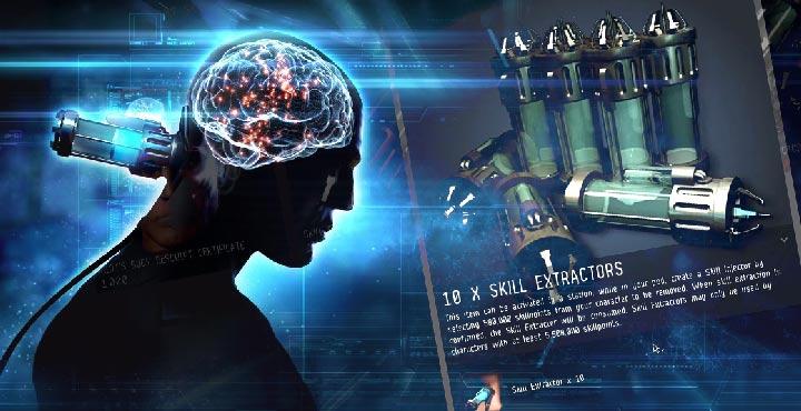 JonnyPew: EVE Online – 100+ Mil Skill Point Extraction!
