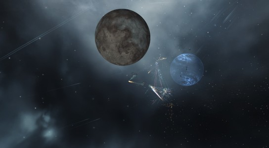 The Fighting on the Tower in the Hakonen System