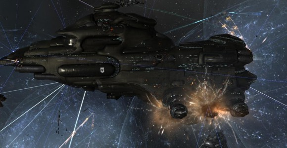 One of the Pandemic Legion Dreadnoughts Coming Under Heavy Fire
