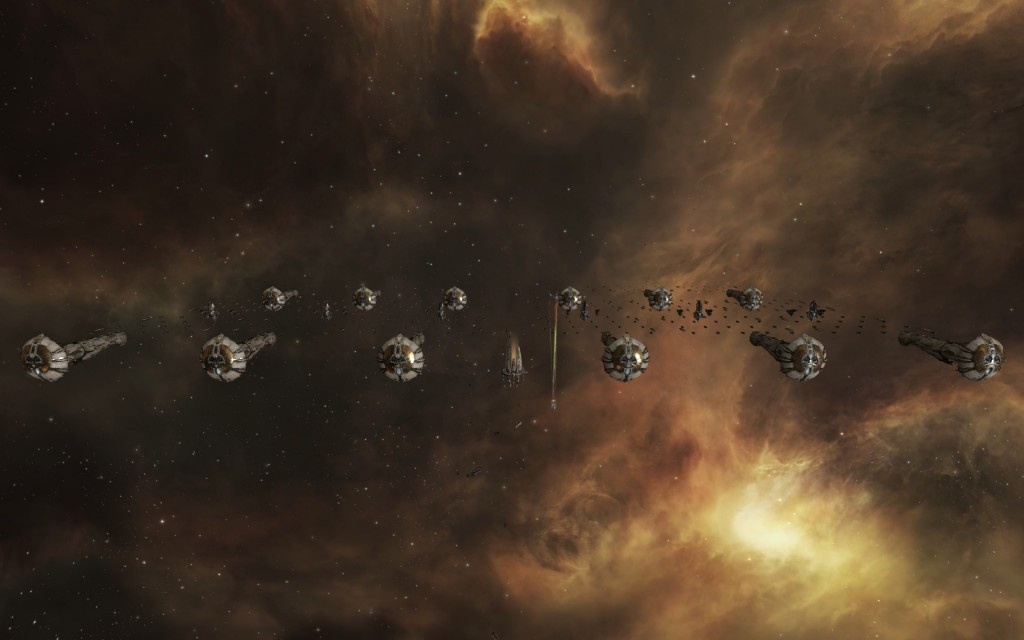 The Amarr Throne World Fleet