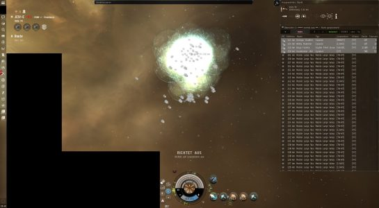 The XHQ-7V Gate in JEIV-E in the Aftermath of the Fight, the Mobile Warp Disruptor Cover Remained Intact Throughout the Fight