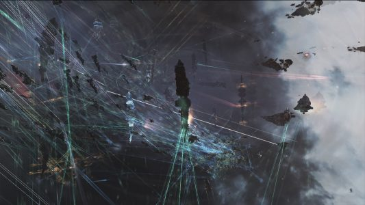 The Grid Descends into Chaos as the Different Fleets Engage Each Other Between the Capitals