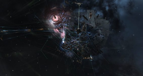 Drone Regions Federation Dreadnoughts Entering the Fray and Targeting Snuffed Out\Project.Mayhem. Force Auxiliaries