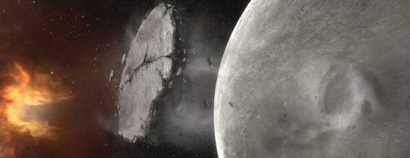 Chunk of a moon.